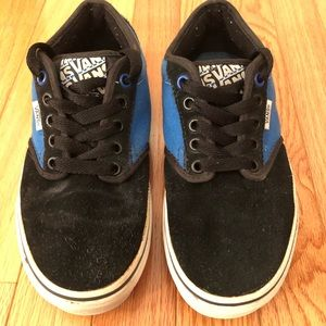 Vans Atwood Sneakers blue and black